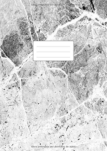 Cuaderno Punteado A4: Libreta De Puntos Para Bullet Journaling, Lettering, Art Notes | Dot Grid Journal | 100 Páginas Con Cuadrícula De Punto | Tapa Blanda | Mármol Gris
