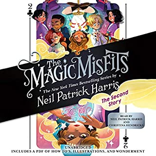The Magic Misfits: The Second Story audiobook cover art