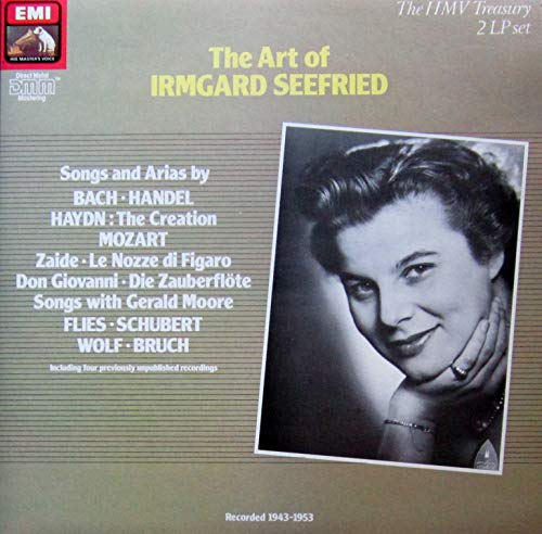 The Art of Irmgard Seefried [Vinyl Doppel-LP] [Schallplatte]