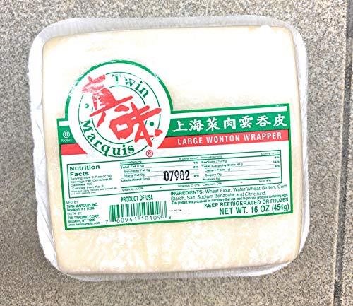 Large Wonton Wrapper 16 oz x 2 上海菜肉雲吞皮