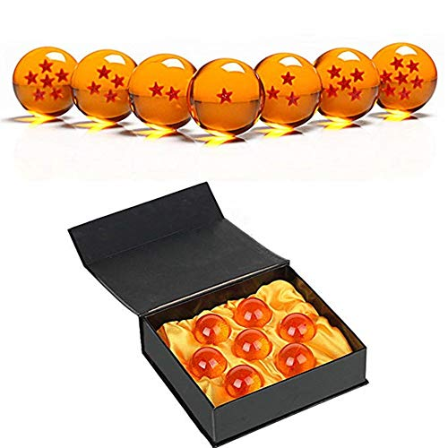 Country Toys Collectible Medium Crystal Glass Stars Balls Dragon Ball(27,35,43,57,76MM in Diameter) (D-4.3)