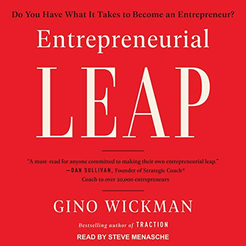 Entrepreneurial Leap cover art