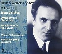 Bruno Walter Legacy: Volume 3 / Schubert Symphonies 8 & 9 (Recorded in 1937/1938)
