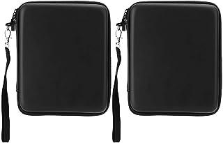 Sutinna Bolsa portátil de Almacenamiento de Estuche Rígido de 2 Piezas de EVA,Estuche Protector con Cordones para 2DS,Prot...