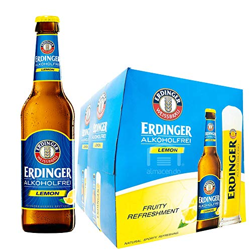 エルディンガー (世界トップクラスの小麦ビールブランド) アルコールフリー レモンフレーバー ボトル (ノンアルコール ドイツ) [ ノンアルコール 330ml×24本 ]
