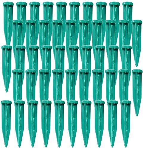 Royal Gardineer Zubehör zu Rasenmäher: Haken für Stromkabel/Begrenzungskabel, 50 Stück (Rasenmäher Roboter)