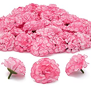 Bright Creations Mini Artificial Hydrangea Flower Heads (60 Count), 1.5 Inches