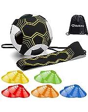 dibikou Voetbal Kick Trainer Voetbal Training Apparatuur voor Kinderen en Volwassenen Handen Gratis Solo Praktijk Perfect voor Voetbal Vaardigheden Verbetering Fit voor Ballen Maat 3 4 5