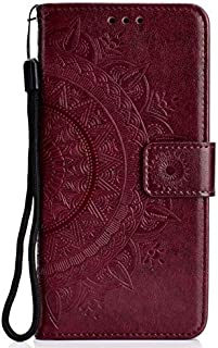 SIZOO - For for Samsung Galaxy J1 2016 Case Embossing Wallet Flip PU Leather Phone Cover Soft TPU Silicone Case for for Sa...