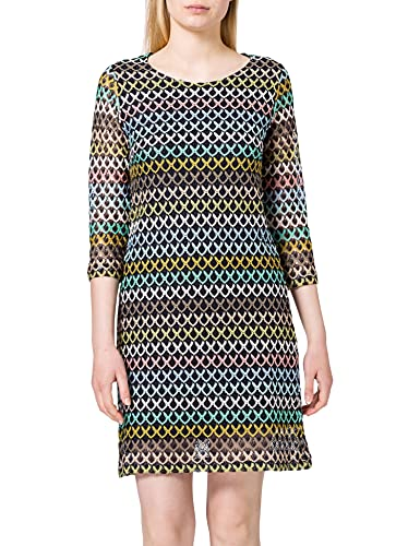 More & More Damen 11813546 Lässiges Kleid, Multi_4375, 36