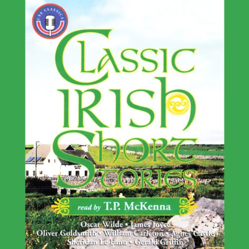 Classic Irish Short Stories audiobook cover art