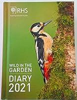 英国王室園芸協会 RHS 2021年 野生動物 野鳥 ポケット ダイアリー 手帳 カレンダー Wild in the Garden 小鳥 うさぎ