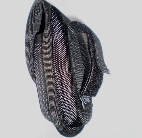 TAOK Funda RIGIDA GRILLETES 10 X 11 X 3 CM Ajuste por Velcro