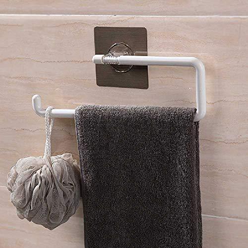 Onbekend No Brand geen spoor pasta geen stansvrij papier handdoek handdoek handdoek rol papier rek keuken multi papier handdoek rek 30.6 * 9.4 * 19cm wit
