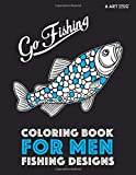 Coloring Book For Men: Fishing Designs (Volume 5)