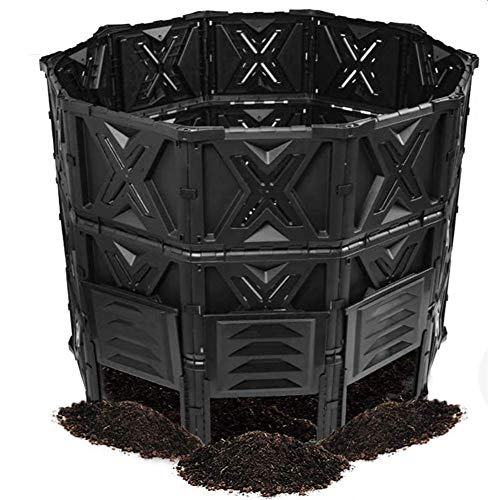 Lowest Prices! Large Compost Bin, Outdoor Compost Tumbler, Yard Compost Fence, Sturdy Garden Compost...