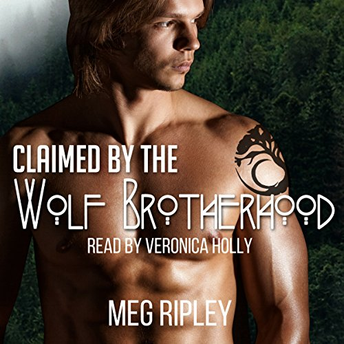Claimed by the Wolf Brotherhood audiobook cover art
