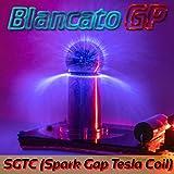 BlancatoGP Mini SGTC Bobina de Tesla generador de Rayos USB Spark Gap Coil USB Plasma