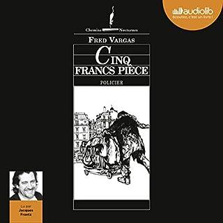 Cinq francs pièce audiobook cover art