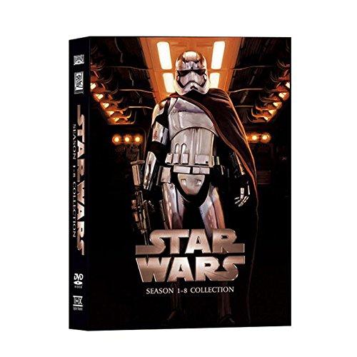Star Wars The Complete Saga Episodes 1 - 8 DVD Set