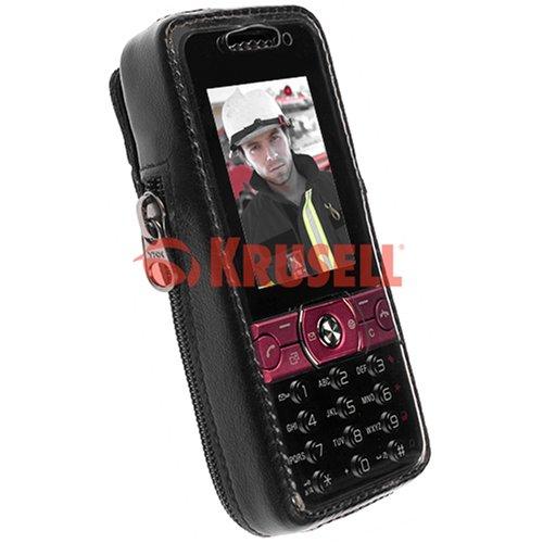 Krusell Classic Handytasche mit patentiertem Clip-System für Sony Ericsson K660i