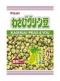 春日井製菓 わさびグリーン豆 72g ×6袋
