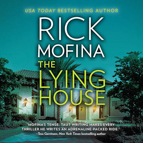 The Lying House audiobook cover art