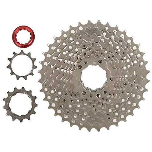 Tbest Bicycle Flywheel,Bicycle Cassette Sprocket,ZTTO 10 Speed 11-36T Steel Bike Flywheel Freewheel Cassette Sprocket SLX Accessory replacement for Bicycle
