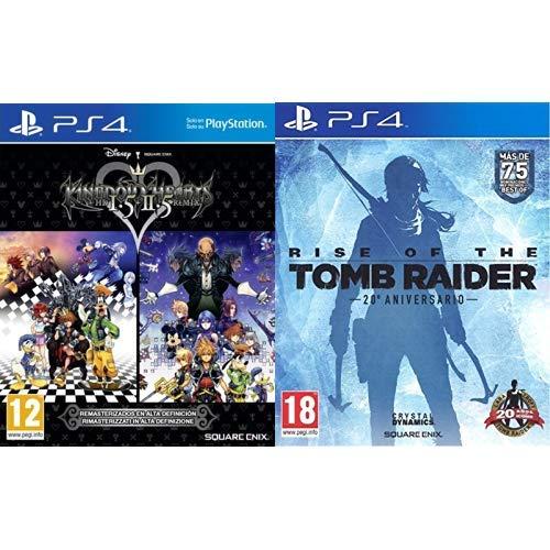 Kingdom Hearts HD 1.5 + 2.5 Remix & Rise Of The Tomb Rider: 20 Aniversario