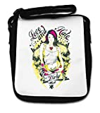 Dirty Love and Hate Tattoo Pin Up Girl Love Small Shoulder Bag...