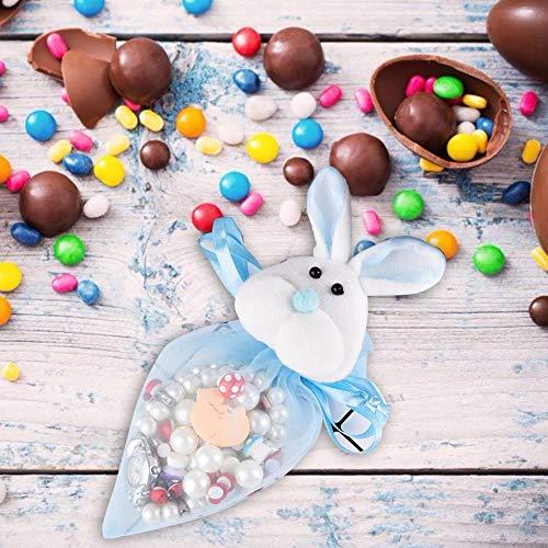 oshidede Osterhasen Candy Bag Kordelzug Kaninchen Geschenktüte Für Süßigkeiten Pralinen Party