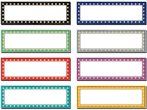 Teacher Created Resources Marquee Labels Magnetic Accents, Sold as 3 Pack, 60 Pieces Total