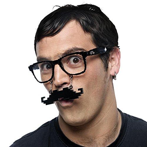 Limit Sport Lunettes avec Moustache Pixelado, Taille Unique (cm948)