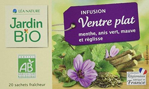 Jardin Bio Infusion Ventre Plat 30 g - Lot de 4