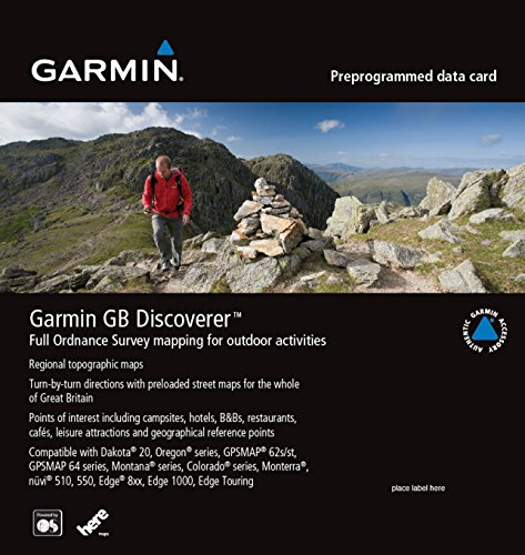 Garmin 010-C0988-00 Navigations-Software - Navigationssoftware (Great Britain National Parks, USB, PowerPC G4)