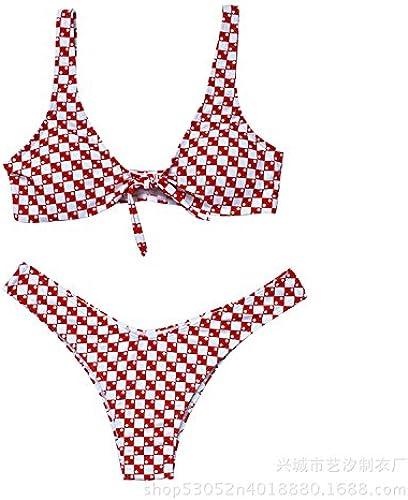Gyps Femme Bikini Sexy de Bain Bikini à Bretelle Triangle maillot de bain Plage Confort Moderne Bikini Maillot de Bain Mode Tendance Confort Moderne Bikini Maillot de Bain Split MultiCouleures tre