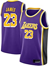 Men's Basketball Jersey 23# James # Lakers Team Basketbal Jersey,L(175/180cm)