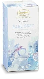 Ronnefeldt - Teavelope - Teebeutel - Earl Grey - Aromatisierter Schwarzer Tee - 6er Pack - 25 x 1,5g