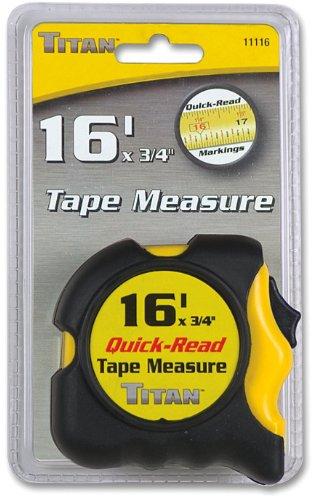 Titan 11116 16' Tape Measure
