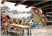 3D壁紙手描き古代戦場戦争リビングルーム寝室テレビ背景壁家の装飾壁-300x210cm