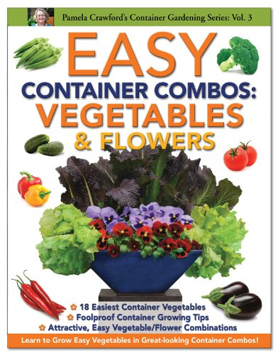 Compare Textbook Prices for Easy Container Combos: Vegetables & Flowers Container Gardening Series First Edition ISBN 9780971222090 by Pamela Crawford,Barbara Iderosa