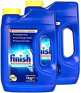 Finish Dishwasher Detergent Powder lemon1kg