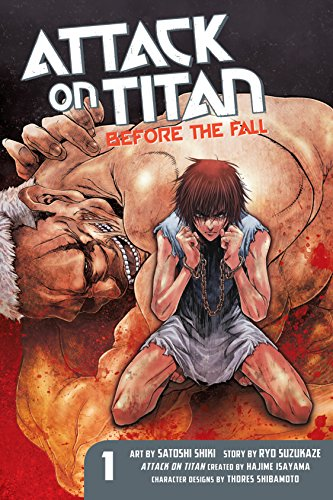 Attack on Titan: Before the Fall Vol. 1 (English Edition)