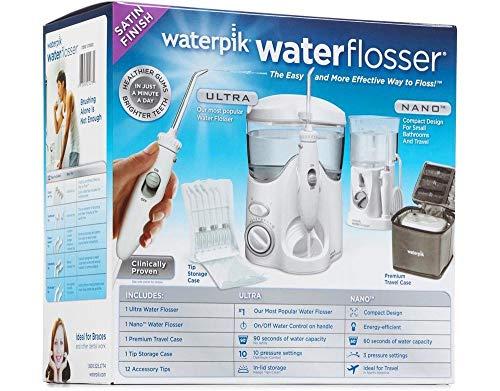 Waterpik Waterflosser Ultra and Waterpik