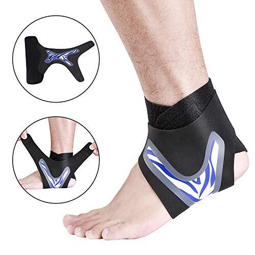 Beautiful Pine Soporte ajustable para el tobillo soporte del tendón de Aquiles tobillera ajustable para correr caminar esguinces artritis lesiones de Aquiles 1 pieza