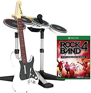 Mad Catz Rock Band 4 Band-in-a-Box Software Bundle for Xbox One - White by Mad Catz [並行輸入品]