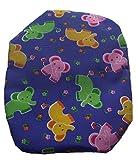 Simple Stoma Cover Ostomy Bag Cover Druckstoff Elefanten Royalblau -