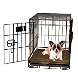 K&H Pet Products Self-Warming Crate Pad Mocha X-Small 14 x 22 Inches