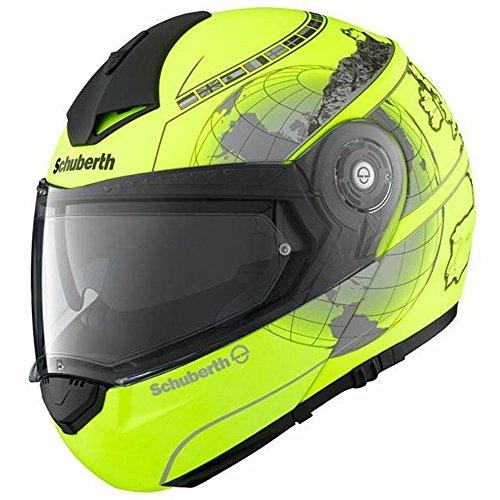 Motorrad-Helm Schuberth C3-Pro-Europa-M/Yell-X-L 60/61