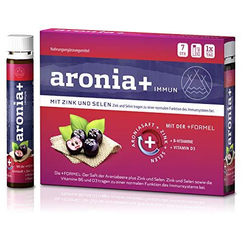 aronia+ immun Trinkfläschchen, 7 St. Ampullen